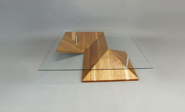 Elegant Exquisite Highly Customizable Origami Coffee Table by Martin Pitonak homesthetics (1)