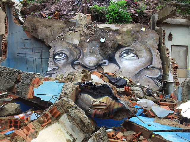 Experimental Distorted Street Faces By Andre Muniz Gonzaga
