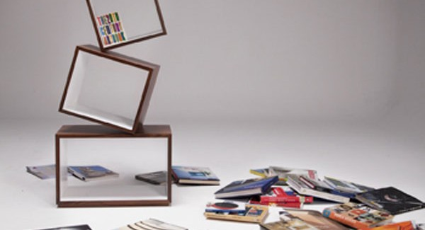 Experimental Furniture  Equilibrium Bookcase by Malagana Design homesthetics (4)