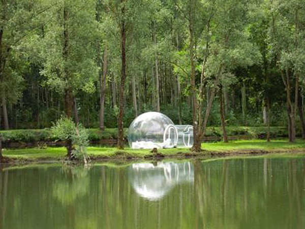 Experimental Living Bubble Room Hotel in France by Pierre Stéphane homesthetics design (1)