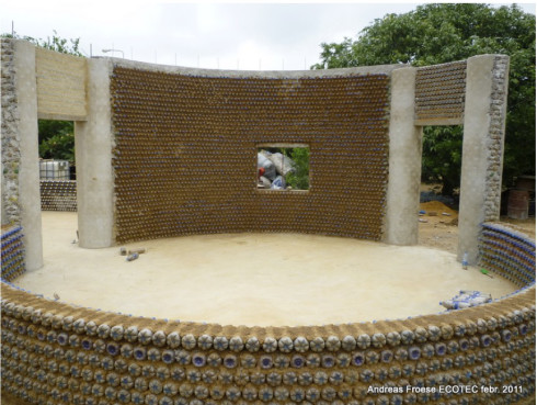 inside the Experimental Living- Sustainable Plastic Bottle House by D.A.R.E (1)