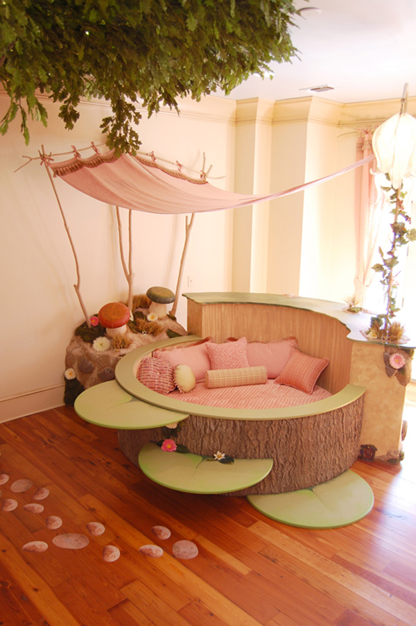 small tree like bed Fantasy Fairy tale Bedroom Interior Designs for Kids  for any dream. Fantasy Fairy tale Bedroom Interior Designs for Kids