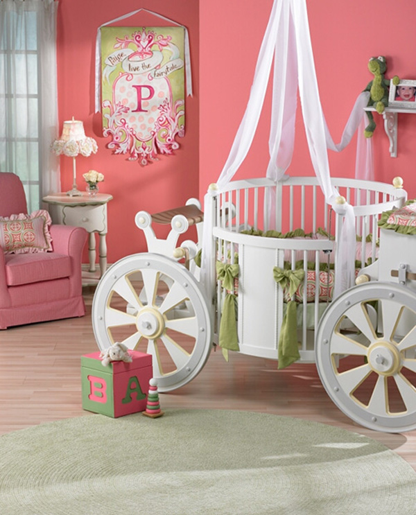 10 Great Baby Room Ideas For Parents To Use In Their: Fantasy Fairy-tale Bedroom Interior Designs For Kids