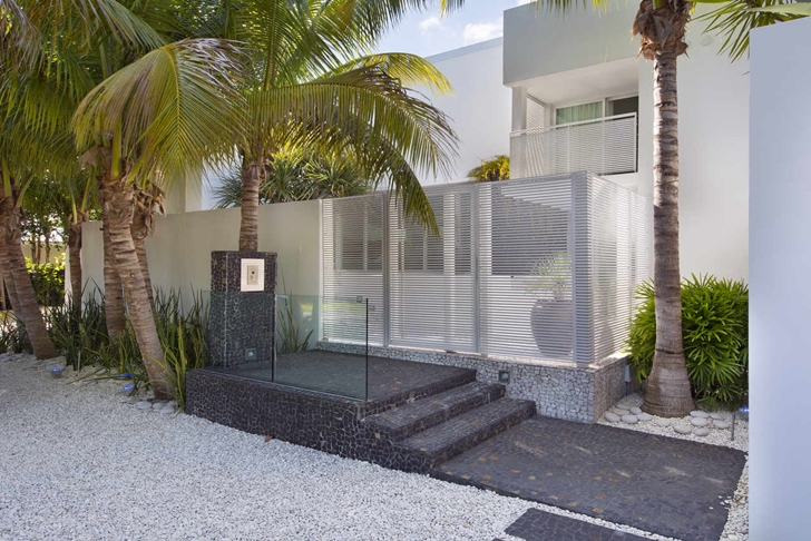 High End Luxurious Modern Mansion With Colorful Lighting At Night Located In Miami Homesthetics Florida 40 Homesthetics Inspiring Ideas For Your Home