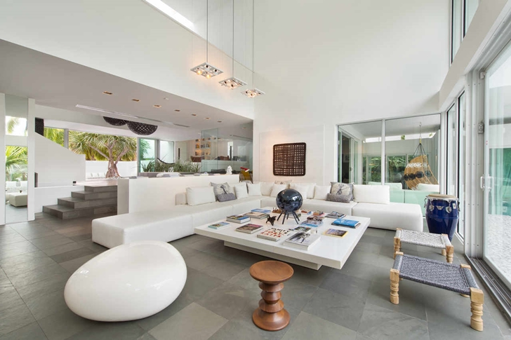 modern lighting miami. Living Room Interior Design Of The High-End-Luxurious-Modern-Mansion- Modern Lighting Miami