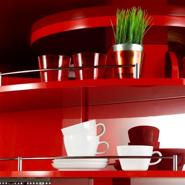 Contemporary Approach to Kitchen Design: Home Circled Kitchen for Small Spaces by Compact Concepts storage