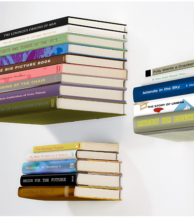 Ingeniousity Materiallized in a Floating Bookshelve that Defies Gravity  homesthetics (1)