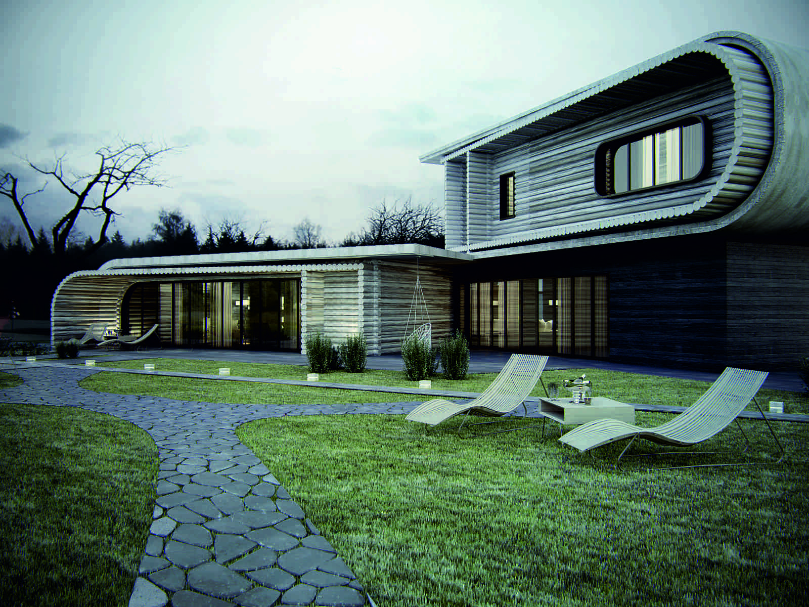 Inspiring contemporary rustic design the s house by ko ko for Design your house