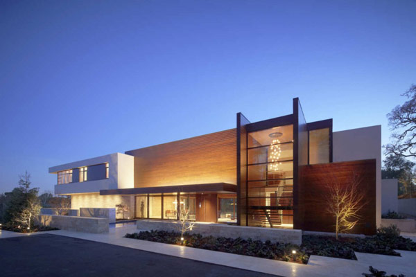 Modern Cliff View Residence Shining in a Contemporary Style- OZ House  California modern mansion (4)