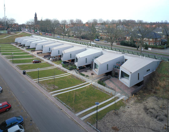 Modern Collective Housing-The Cyclops in Netherlands by NIO Architecten Homesthetics