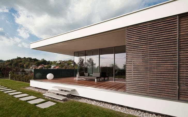 Modern Dream Mansion - Haus Sk In Austria Designed By Two In A Box