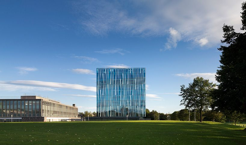 Modern Educational Building-The University of Aberdeen in Scotland SHL Architects Homesthetics