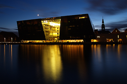 Monolithic Modern Design The Royal Library In Denmark By