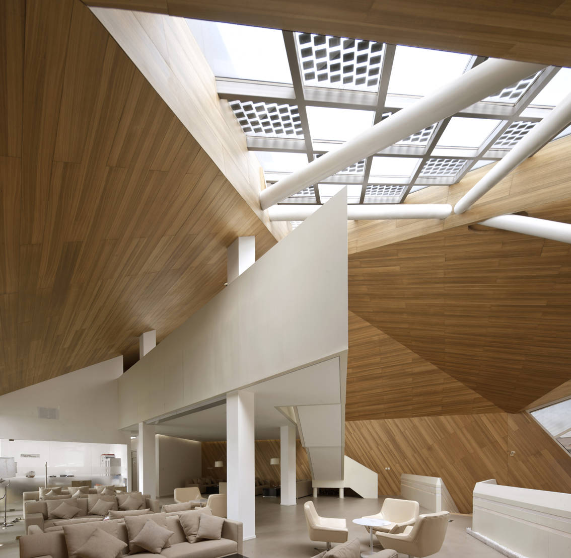 The Cocoon: Low Energy Architecture by Mochen Architects & Engineers in Tianjin, China modern living