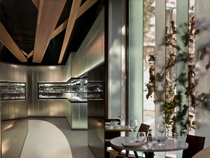 The Ikibana Restaurant – Controversial Fluid & Organic Space in Barcelona
