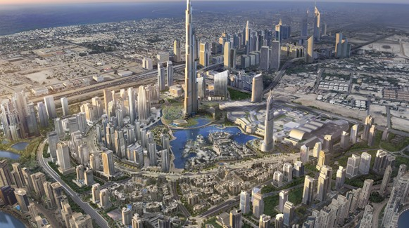 The New Dubai and its Symbol: The Burj Khalifa Tower