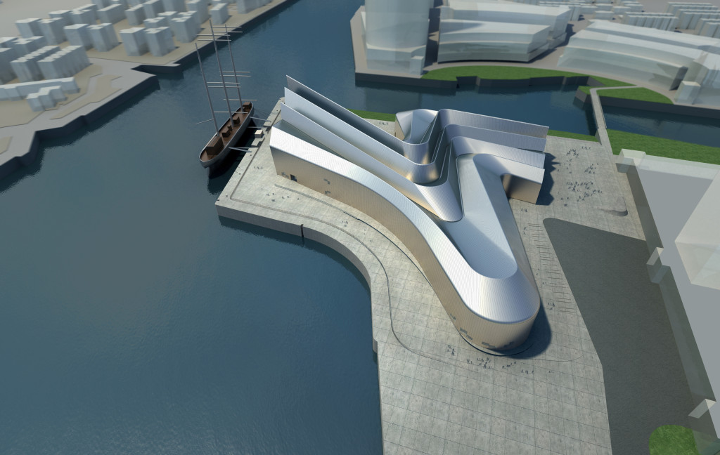 The Riverside Museum Of Transport In Glasgow By Zaha Hadid