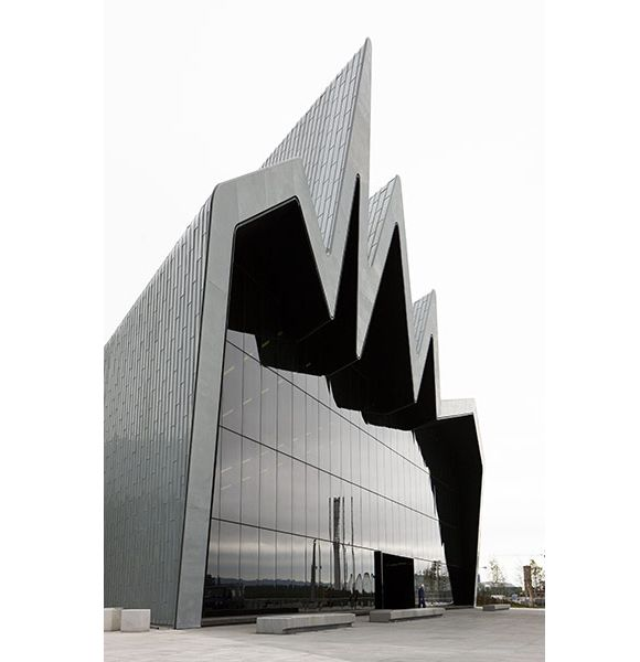 The Riverside Museum of Transport in Glasgow by Zaha Hadid Architects Homesthetics