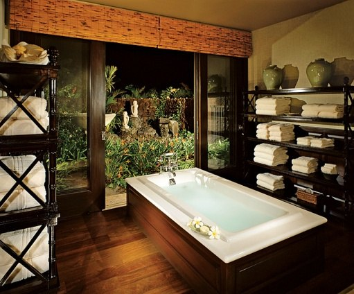 The Spa is Brought Home: Six Luxurious Interior Designs Functional Space into a Haven of Style and Luxury rich elements