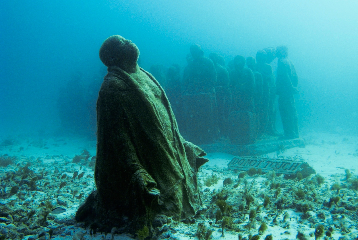 Underwater Sculptures by Jason de Caires Taylor scary art