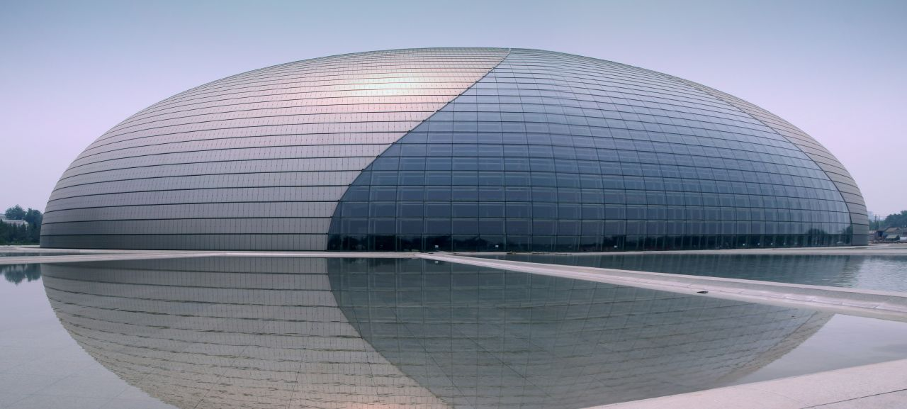 Unique Egg Shape-National Centre for the Performing Arts in Beijing by Paul Andreu homesthetics (1)