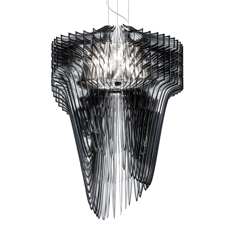 Zaha Hadid for Slamp Aria and Avia Lamps Unveiled luxury