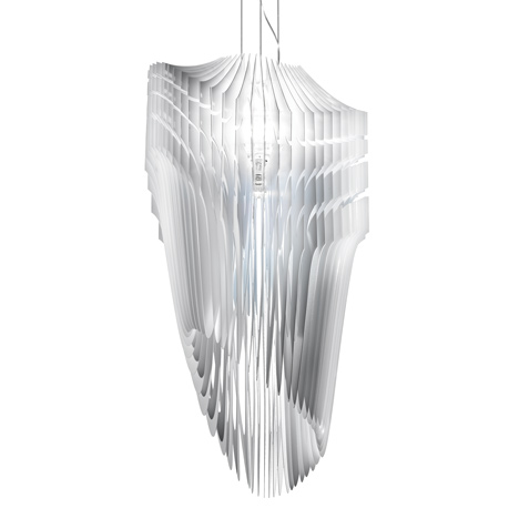 Zaha Hadid for Slamp Aria and Avia Lamps Unveiled simple