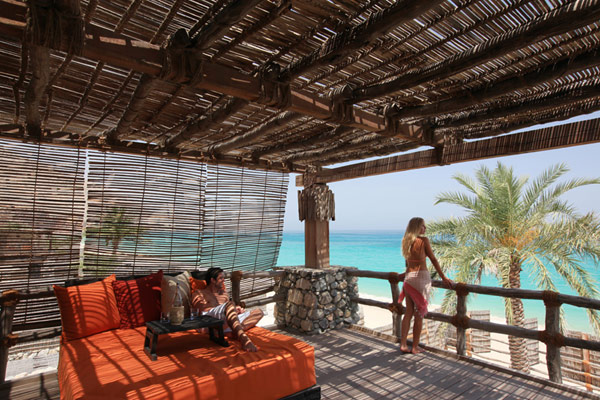 high end pergola A Drop of Heaven – Six Senses Zighy Bay Resort – Northern Musandam Peninsula