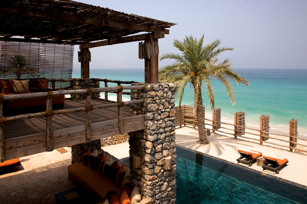 high end resort A Drop of Heaven – Six Senses Zighy Bay Resort – Northern Musandam Peninsula