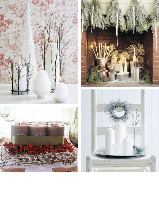 amazing Creative & Inspiring Modern Christmas Centerpieces Ideas homesthetics xmas (1)