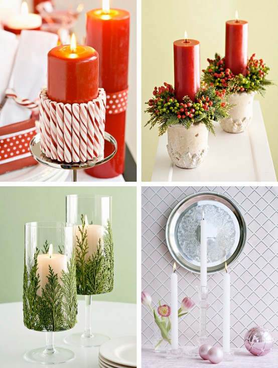 red white amazing Creative & Inspiring Modern Christmas Centerpieces Ideas homesthetics xmas (1)