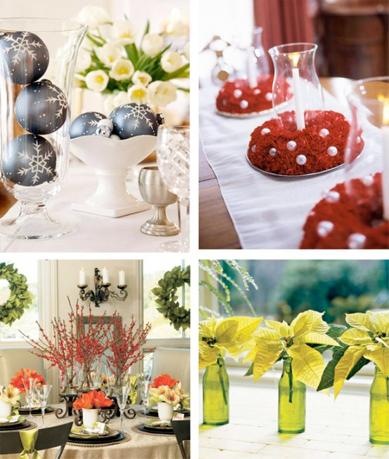 different amazing Creative & Inspiring Modern Christmas Centerpieces Ideas homesthetics xmas (1)