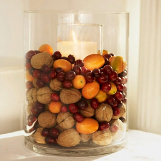 fruits amazing Creative & Inspiring Modern Christmas Centerpieces Ideas homesthetics xmas (1)
