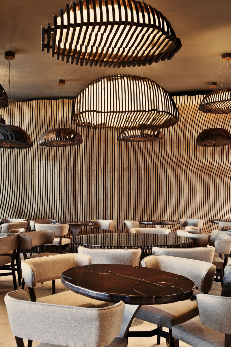 modern display of skill in an amazing doncafe interior design