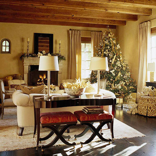 wood warmth creative and inspiring  modern Tips and Tricks on How to Get Prepared for Christmas homesthetics (29)