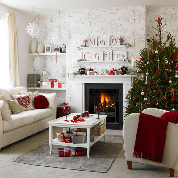 red and white creative and inspiring  modern Tips and Tricks on How to Get Prepared for Christmas homesthetics (29)