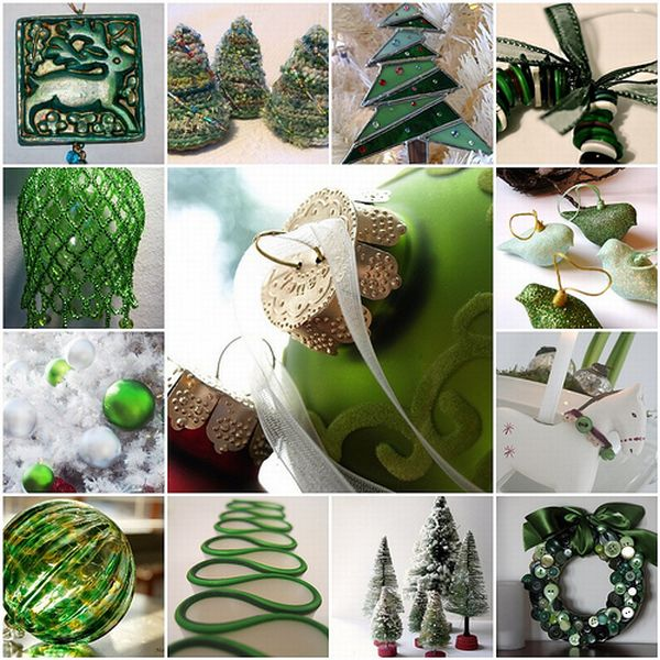 green creative and inspiring  modern Tips and Tricks on How to Get Prepared for Christmas homesthetics (29)