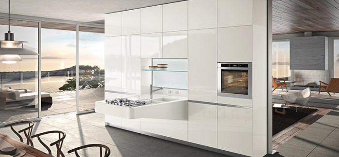 kitchen interior design Higly Versatile Board Compact Kitchen Designed by Snaidero (4)