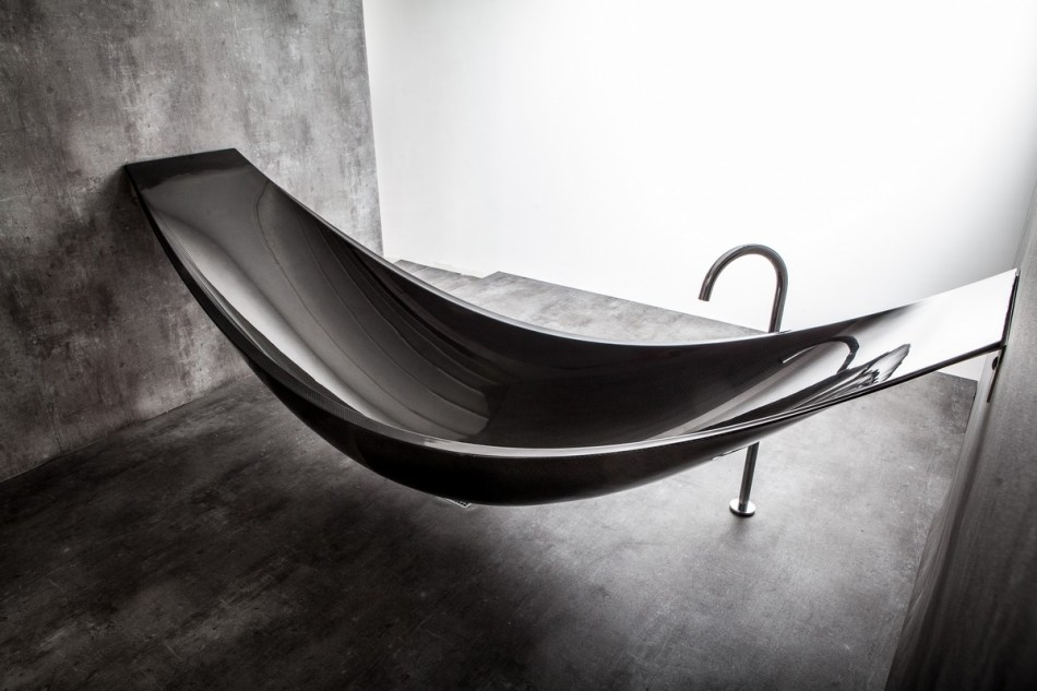 empty modern black hammock-bathtub-design-made-from-layers-of-carbon-fiber-by-Splinter-Works-sleek-bath-tub-floating-bath-tub-Homesthetics-1 (20)