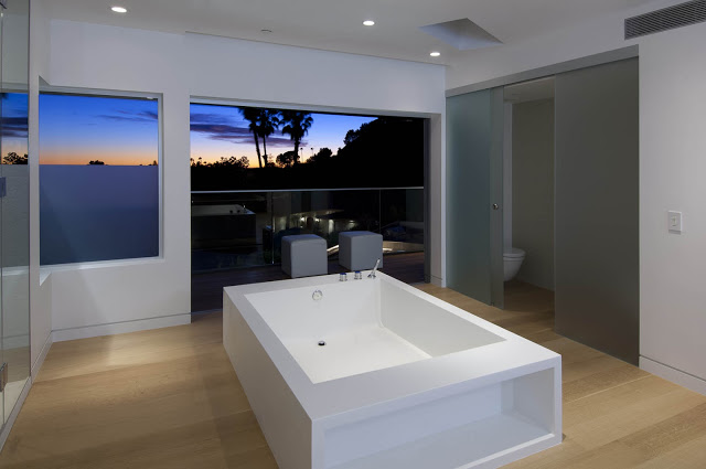 breathtaking views 1734 Doheny - Cliff View Modern Home In Hollywood Hills, California by Luca Colombo