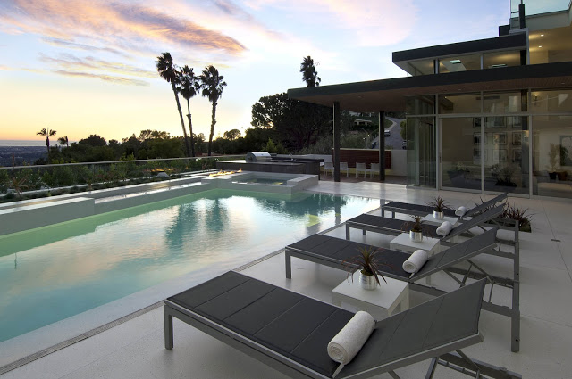 1734 Doheny - Cliff View Modern Home In Hollywood Hills, California by Luca Colombo