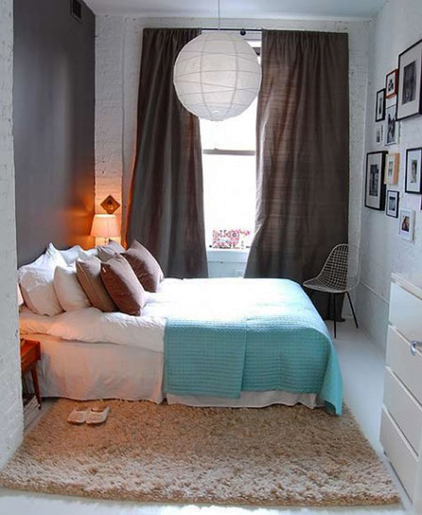 Attractive Home Decor Ideas For Small Bedroom Part - 14: ... Small Bedrooms Design ...