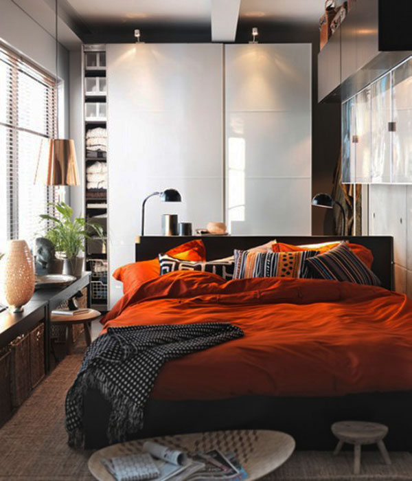 40 Small Bedrooms Design Ideas Meant To Beautify and ... on Bedroom Ideas Small Room  id=76588