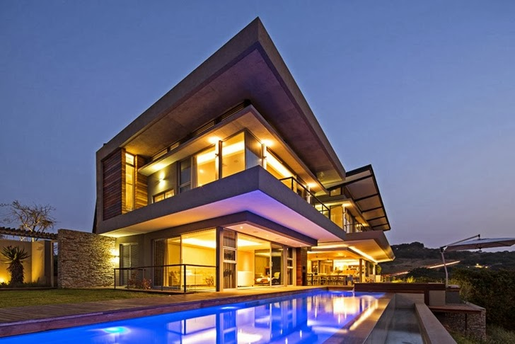 Albizia House - Cliff View Modern Mansion by Metropole Architects homesthetics (1)