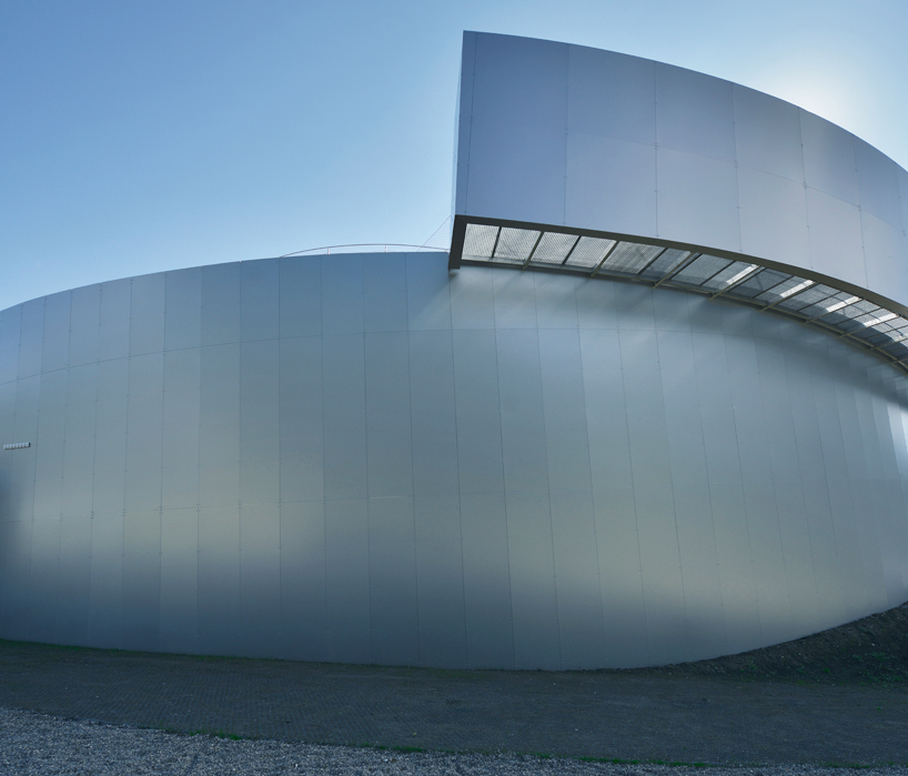 Amazing Futuristic Shape-The Cultural Center Of European Space Technologies in Slovenia by OFIS Homesthetics