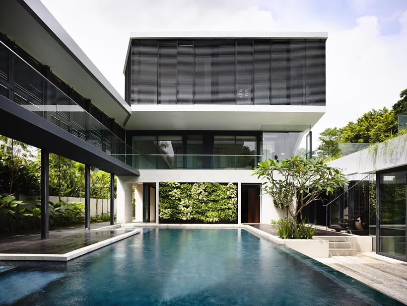 Andrew Road Residence Futuristic Dream Mansion In