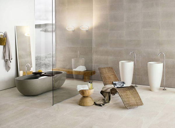 transparent Black and White Modern Bathrooms Inspired by Nature- Neutra`s Collection homesthetics (1)