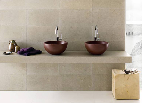 copper sinks Black and White Modern Bathrooms Inspired by Nature- Neutra`s Collection homesthetics (1)
