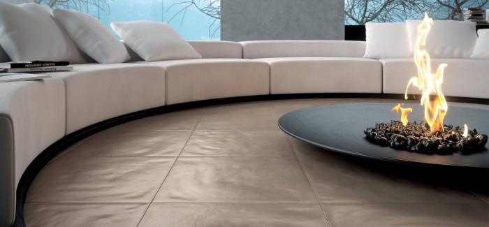 detail shot of an impeccable Centered Conversation Social Pit -Sunken Sitting Areas to Fit Your Modern Mansion