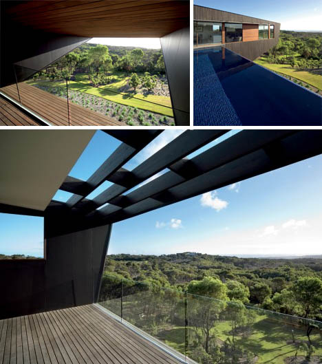 Cliff View Dream Home With Huge Cantilevers In Contemporary Style By JCB Architects